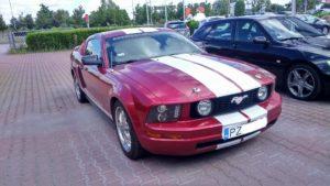 Mustang lakierowanie - przed lakierowaniem